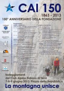 Locandina_CAI150_Terni2013