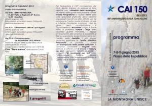 programma_CAI150_Terni2013_fronte