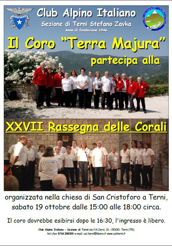 Locandina rassegna corali San Cristoforo 2013-10-15