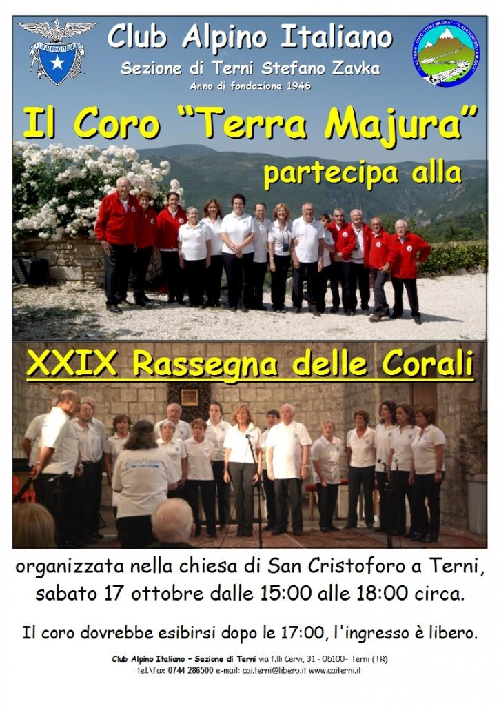 Locandina rassegna corali San Cristoforo 2015-10-12