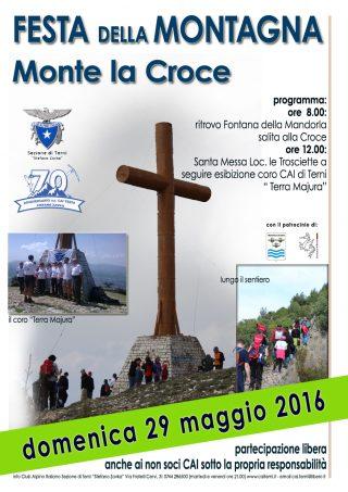 Locandina festa della montagna 2016