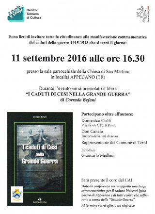 Locandina Appecano 11 settembre 2016