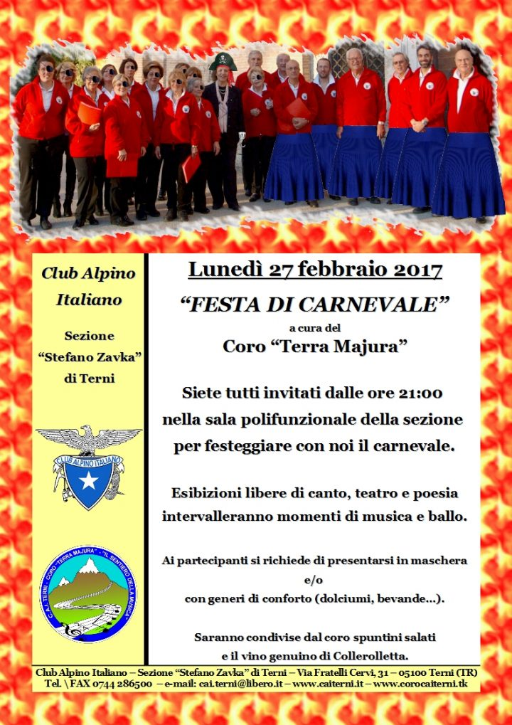 Locandina Carnevale 2017-02-27