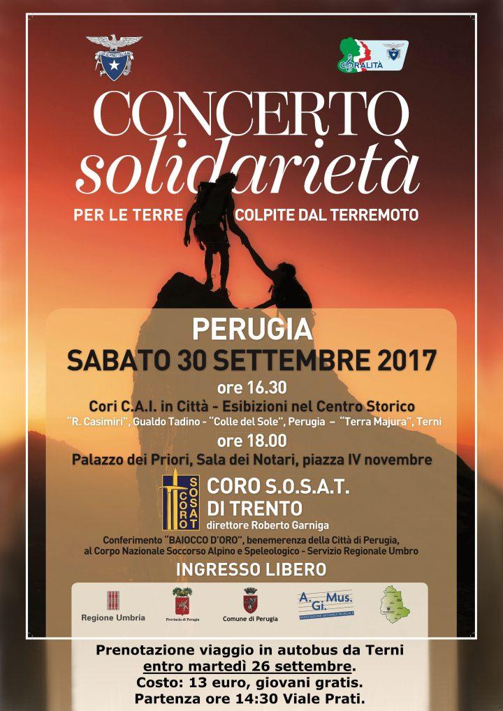Locandina concerto 30 settembre 2017