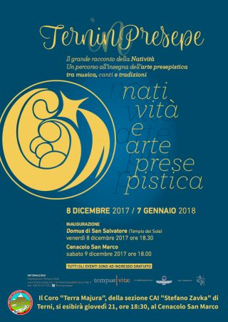 Locandina Cenacolo San Marco Natale 2017.