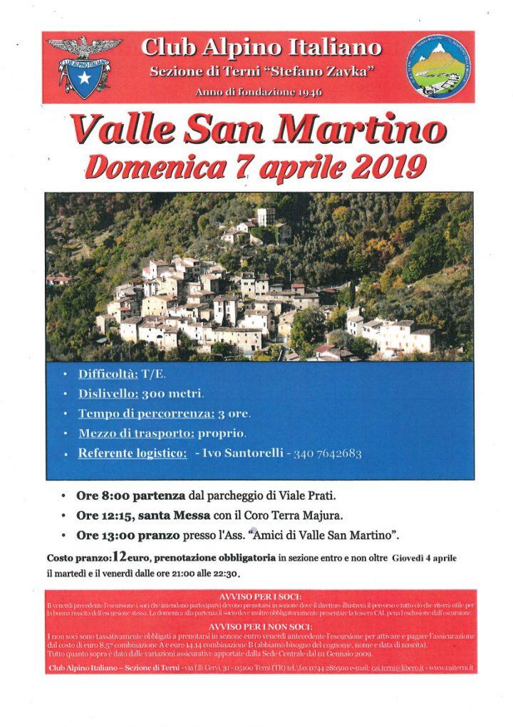 Locandina Valle San Martino