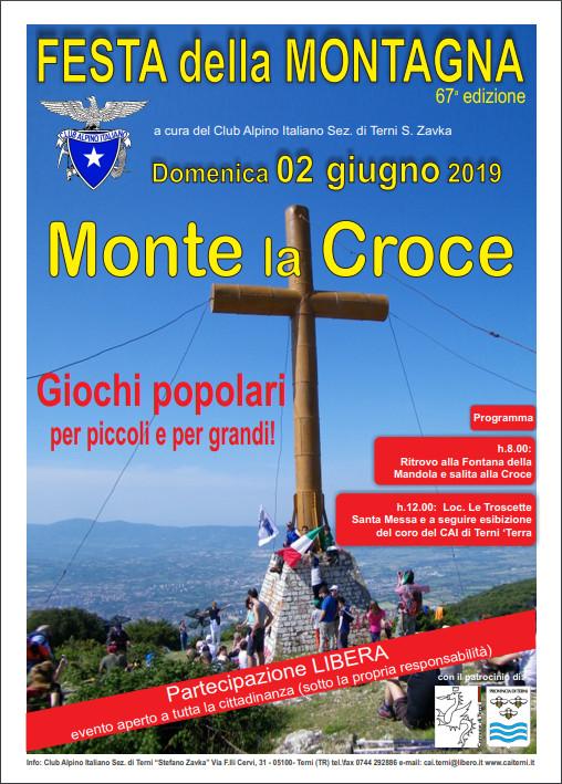 Locandina festa della montagna 2019