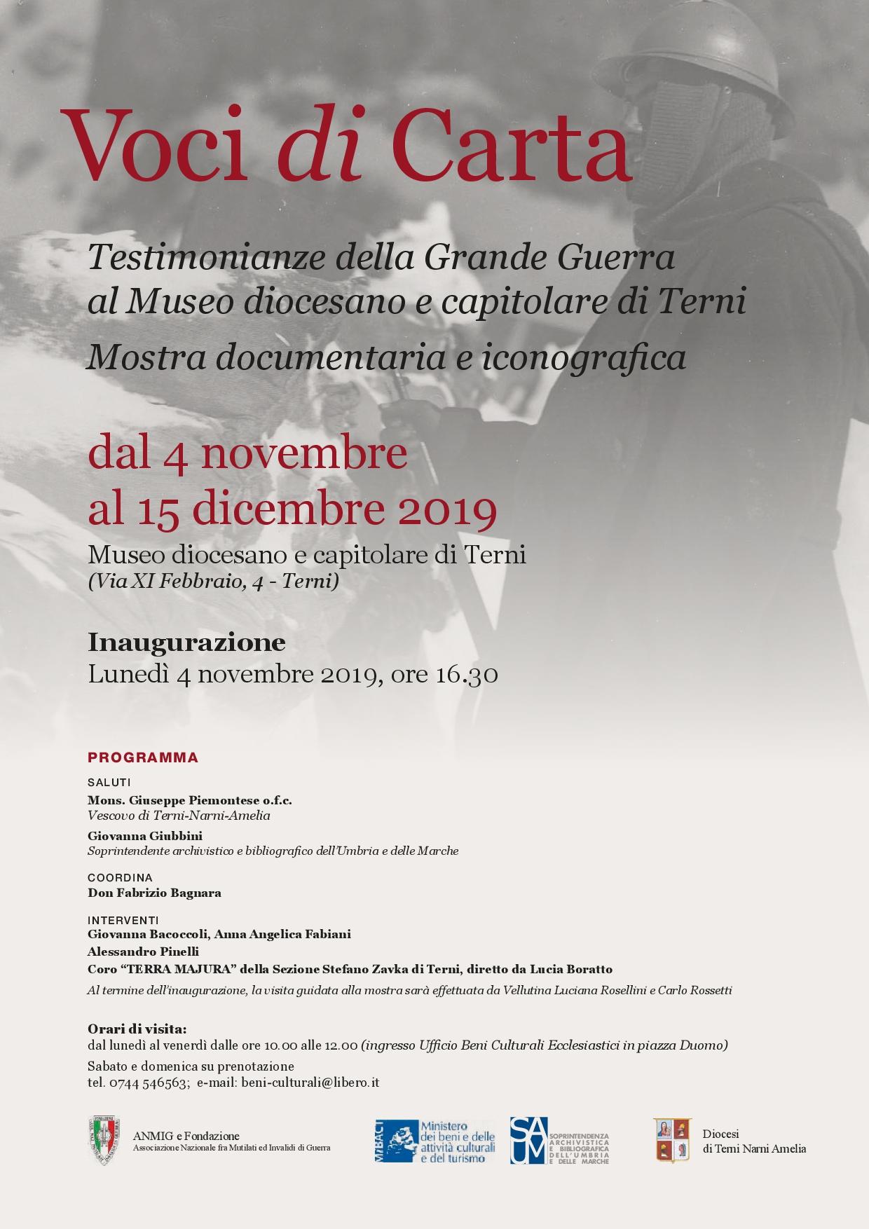Locandina 4 novembre 2019