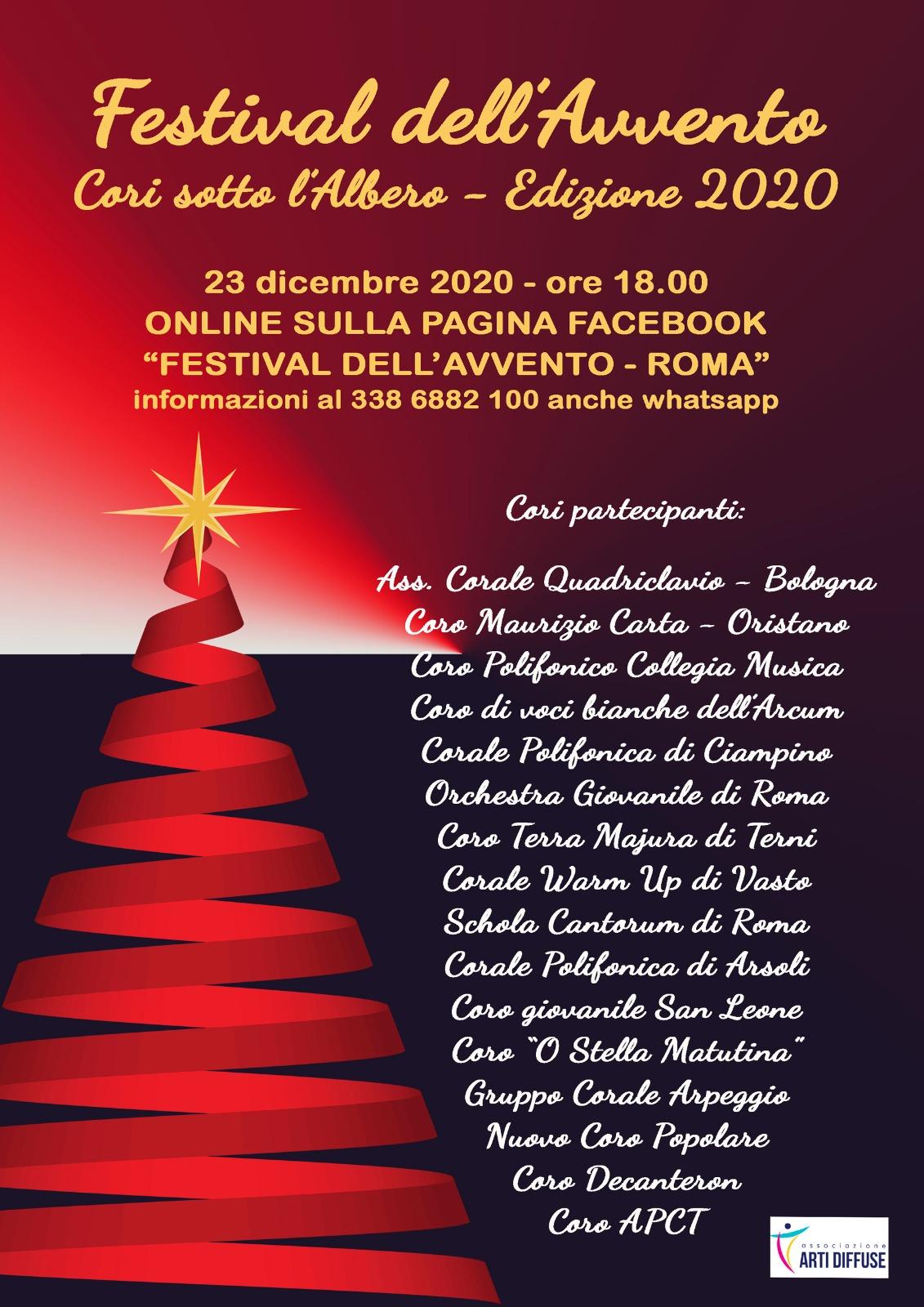 Festival dell'Avvento - Cori sotto l'albero